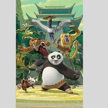 Walltastic Behangposter Kung Fu panda