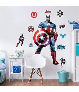 Muursticker Captain America XXL