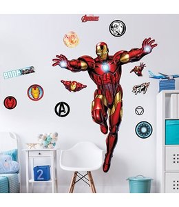 Muursticker Iron Man XXL