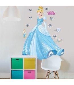 Muursticker Cinderella XXL