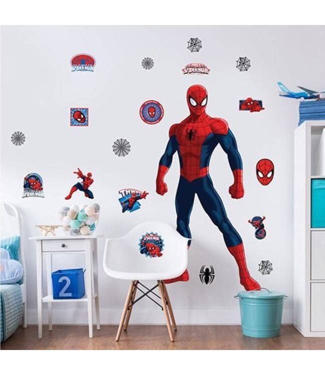 Muursticker Spiderman XXL - Muurstickers kinderkamer - Muurstickers&zo
