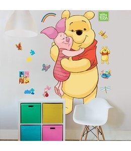 Muursticker Winnie the pooh XXL