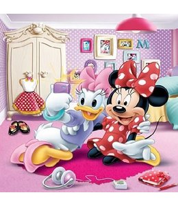 Fotobehang Minniemouse XL