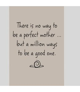 Tekstbord perfect mother