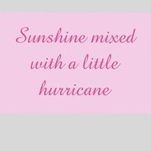 Tekstbord sunshine mixed