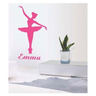 Coart Muursticker ballerina Emma by Coart