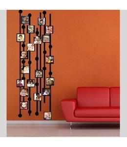 Muursticker foto blok by Coart