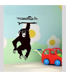 Muursticker monkey by Coart
