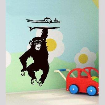 Coart Muursticker monkey by Coart
