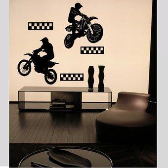 Coart Muursticker motocross by Coart