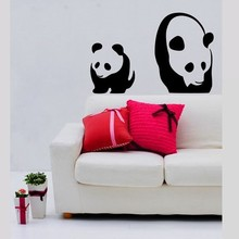 Coart Muursticker panda by Coart