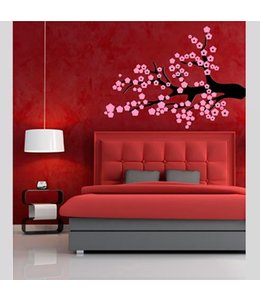 Muursticker Plum  tree by Coart