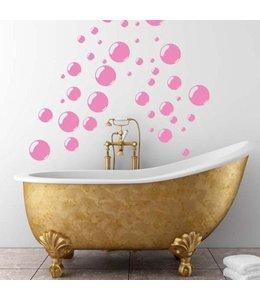 Muursticker bubbels