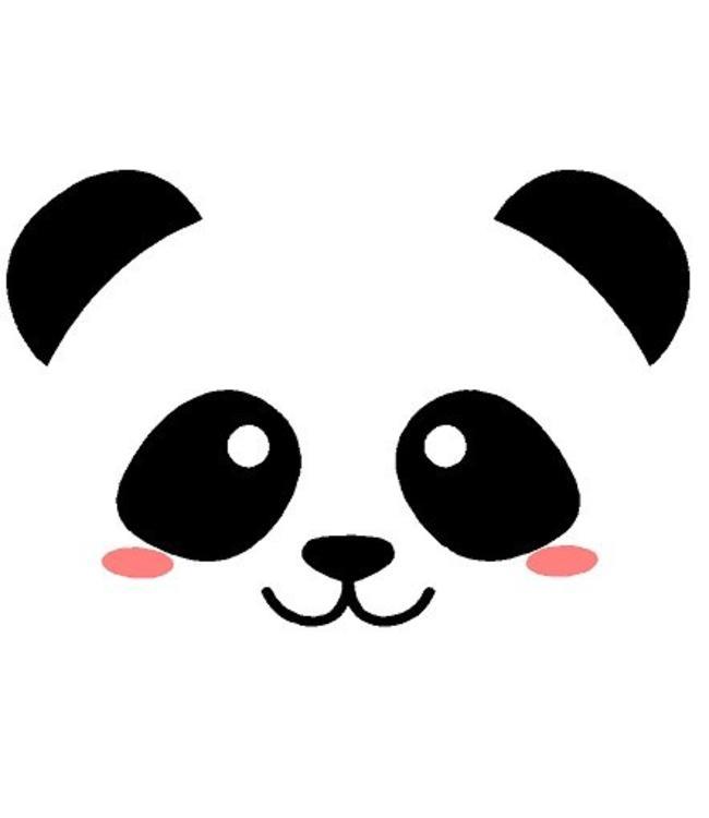 Muursticker Lieve Pandabeer Muurstickers Amp Zo