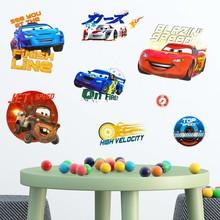 Muursticker cars 3D