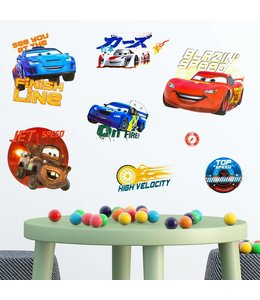 Muursticker cars 3D