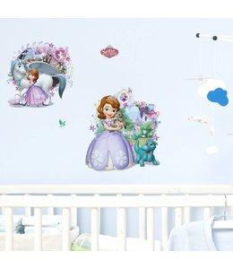 Muursticker Disney Sofia het prinsesje