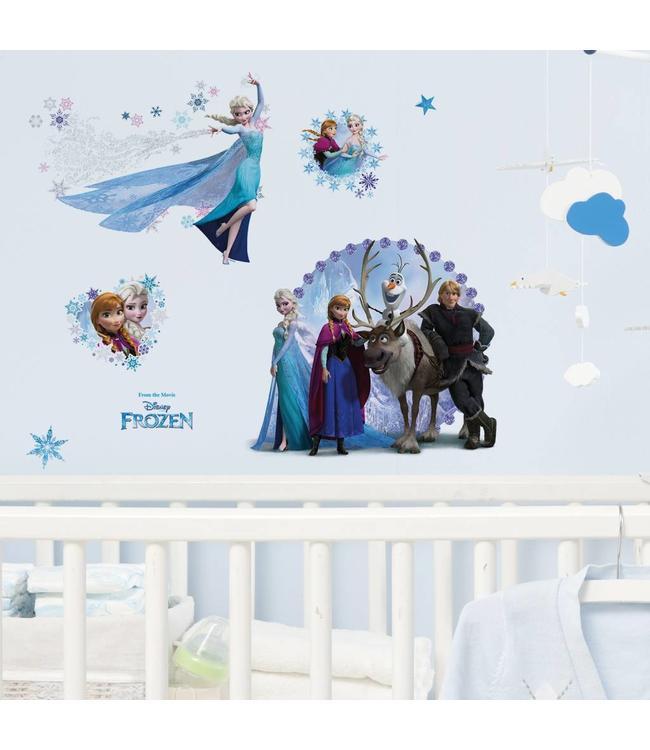 Muursticker Disney Frozen