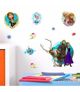 Muursticker Disney Frozen 3D