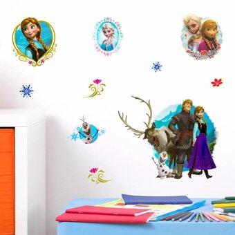 Muursticker Disney Frozen 3D