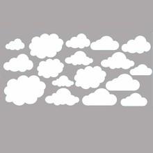 Muursticker wolken