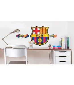 Muursticker FC Barcelona Logo (groot)