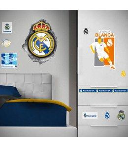 Muursticker Real Madrid Logo Hole