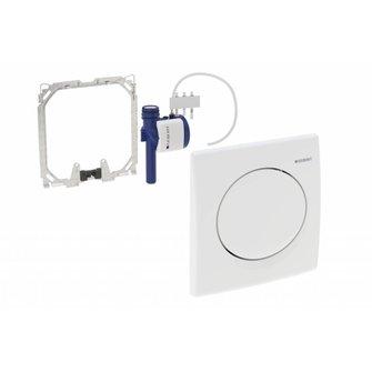 Geberit HyBasic Urinal-Handauslösung Kunstst. GE pneumatisch, weiss-alpin ab 07/13
