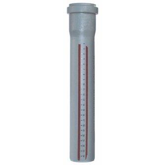 Rohr HT-Rotstrich DN 70 x 1000mm