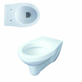 VIGOUR Wand-Tiefspül-WC one weiß