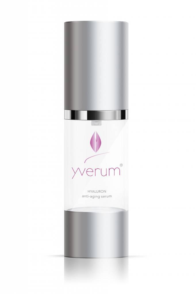 yverum hyaloron anti aging serum kosmetik4you. Black Bedroom Furniture Sets. Home Design Ideas