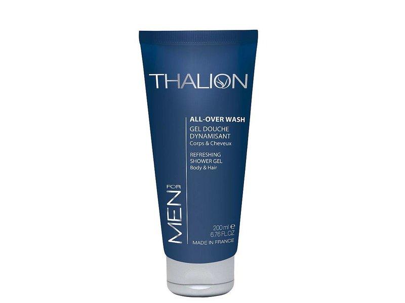 THALION belebendes Duschgel für Körper & Haare mit belebendem Duft für den Mann