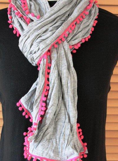 HanneHaves Jersey sjaal 'Cerise bubble'