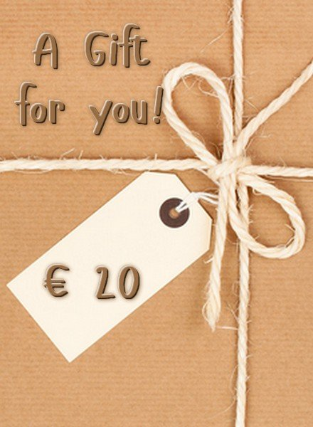 HanneHaves GIFT CARD € 20,00