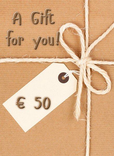 HanneHaves GIFT CARD € 50,00