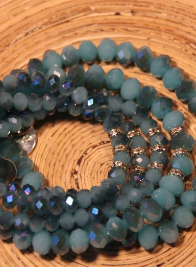 HanneHaves Me& Minnie Me bracelets Blue