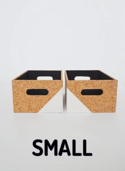 Curious Project Woonaccessoires: Mandjes van kurk small