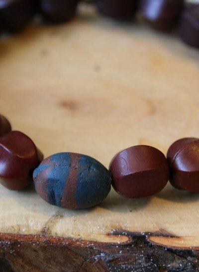 MensHaves Mannenarmband Wood and Clay