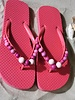 HanneHaves Teenslippers Frizzy Pink maat 40/41