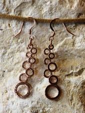 HanneHaves Rose gouden oorbellen Rings