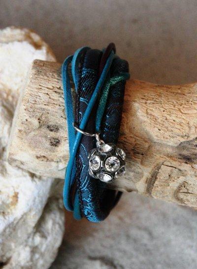 Bynookz Bohemien Bracelet Crystal ball