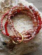 HanneHaves Armbandenset Bundle of Coral