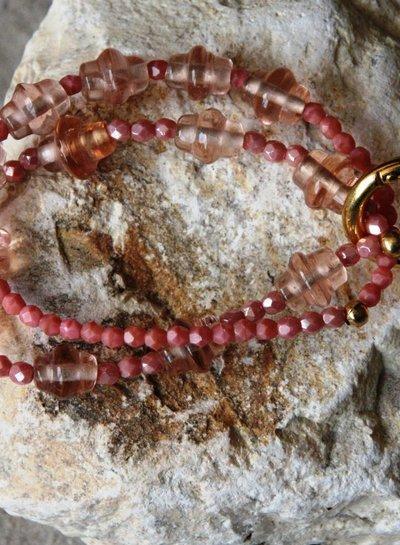 HanneHaves Armbandenset Bundle of Coral