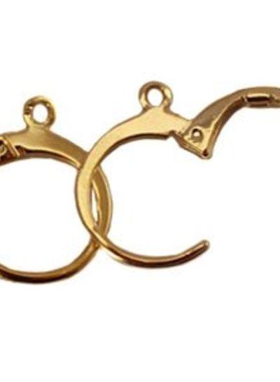 HanneHaves Oorringen Brown Gold
