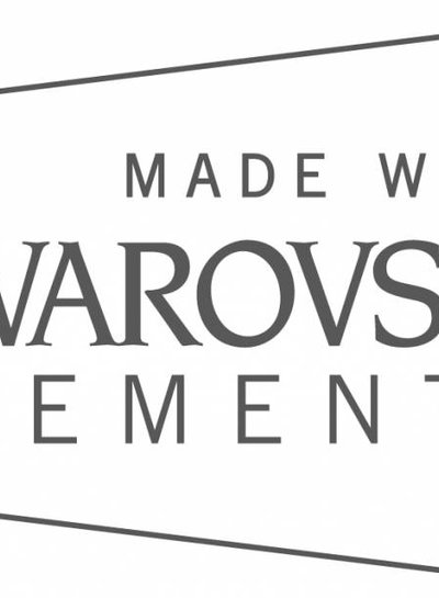 HanneHaves Oorbel Swarovski Drop Smokey Mauve