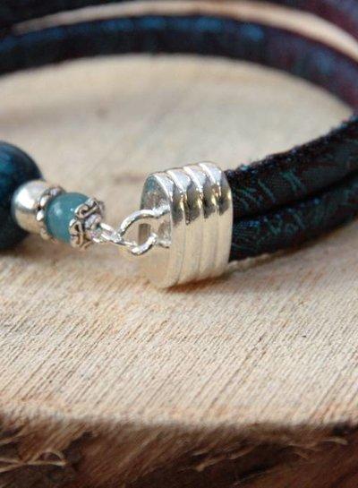 Bynookz Turquoise Bracelet Stones