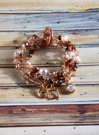 HanneHaves Armbandenset Bundle of Roségold