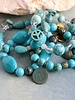 HanneHaves Armband Howliet Turquoise PatinaCopper