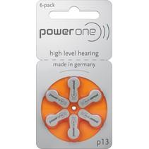 Hoorbatterijen P13 blister 6 stuks Power One
