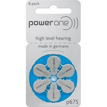 P675 - 20 blisters 120 stuks Power One